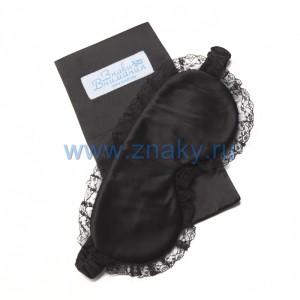 Маска для сна «Black Lace» черная