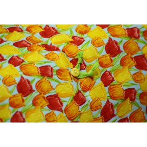 Покрывало с декоративными подушками Tulips